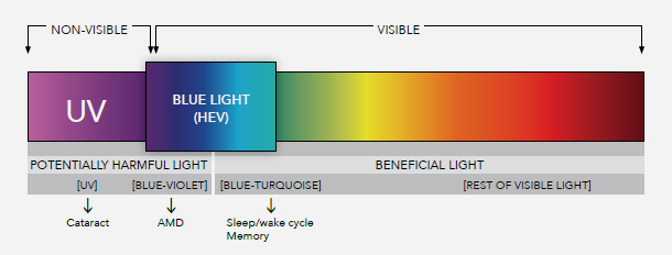 How to protect your light sensitive eyes from computer blue light