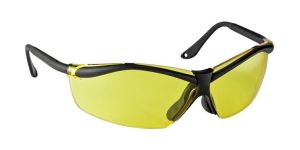 3M Yellow-Amber Lens Safety Glasses