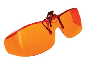 Cocoons SideKicks clip-on orange lens blue light filter