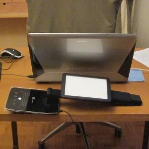 anti-reflective glare free computer lighting - LED desk lamp 1