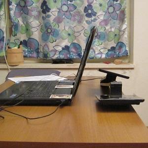 anti-reflective glare free computer lighting - LED desk lamp 2