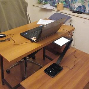anti-reflective glare free computer lighting - LED desk lamp 3