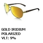 driver fatigue and eye strain_Oakley Gold Iridium polarized