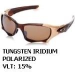 driver fatigue and eye strain_Oakley Tungsten Iridium polarized