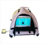 anti-glare-LapDome Portable Sun Shade Weather Protecting Carrying Case Laptop Tablet Phone