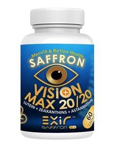Lutein-zeaxanthin-meso-zeaxanthin eye supplement_Exir Vision Max 20-20