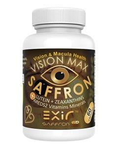 Lutein-zeaxanthin-meso-zeaxanthin eye supplement_Exir Vision Max Suffron AREDS 2