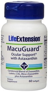 Lutein-zeaxanthin-meso-zeaxanthin eye supplement_Life Extension MacuGuard