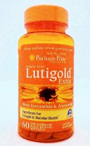 Lutein-zeaxanthin-meso-zeaxanthin eye supplement_Puritans Pride Lutigold
