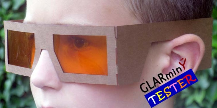 Blue light filter Tester 7 year old fit L