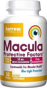 Lutein-zeaxanthin-meso-zeaxanthin eye supplement_Jarrow Formulas Macula Protective Factors