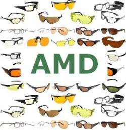 Sunglasses and Glasses for macular degeneration AMD