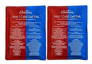 HOW TO REDUCE EYE STRAIN 2-SET HOT COLD GEL THERAPY PACK